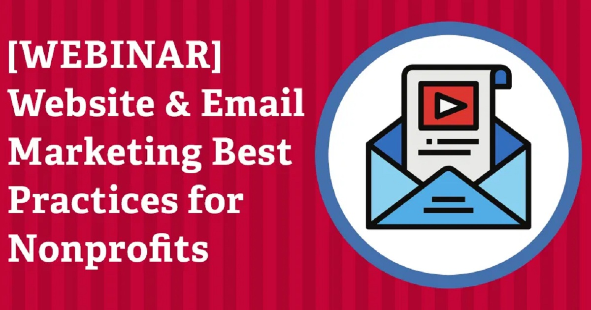 Website & Email Marketing Best Practices for Nonprofits