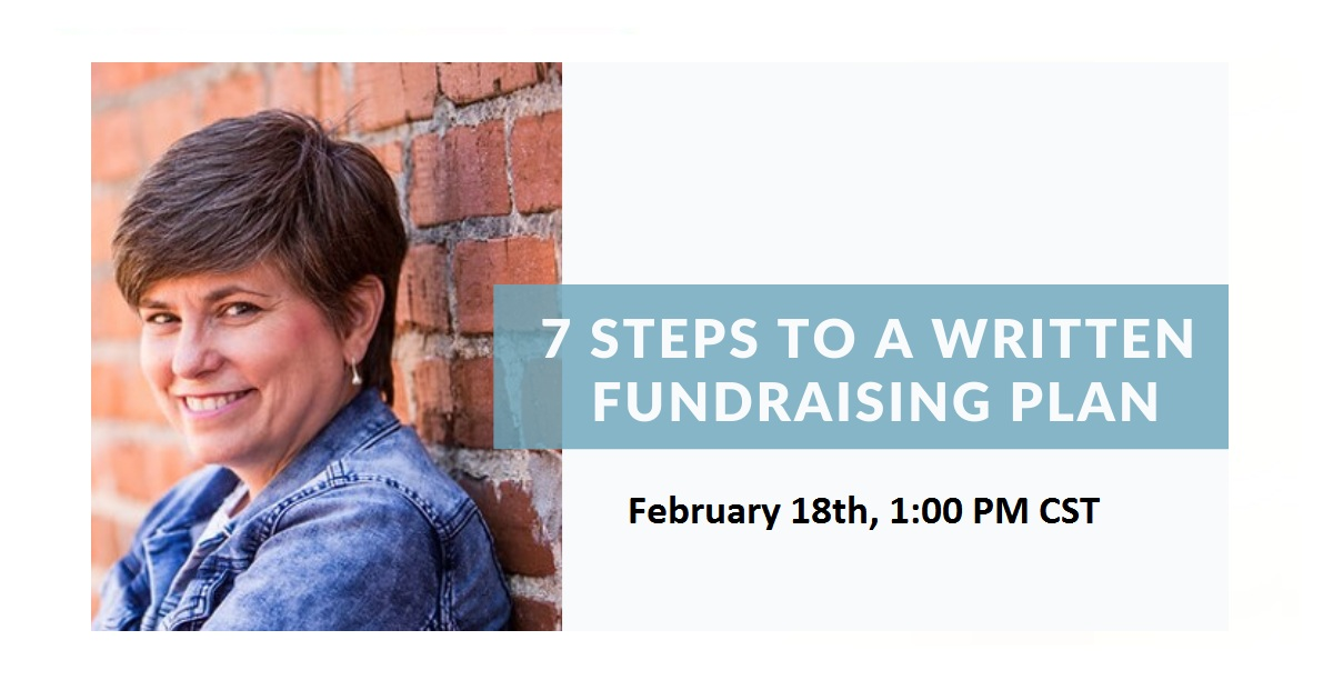 7 Steps To A Written Fundraising Plan