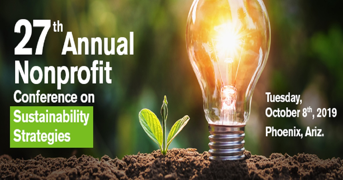 27th Annual Nonprofit Conference on Sustainability Strategies