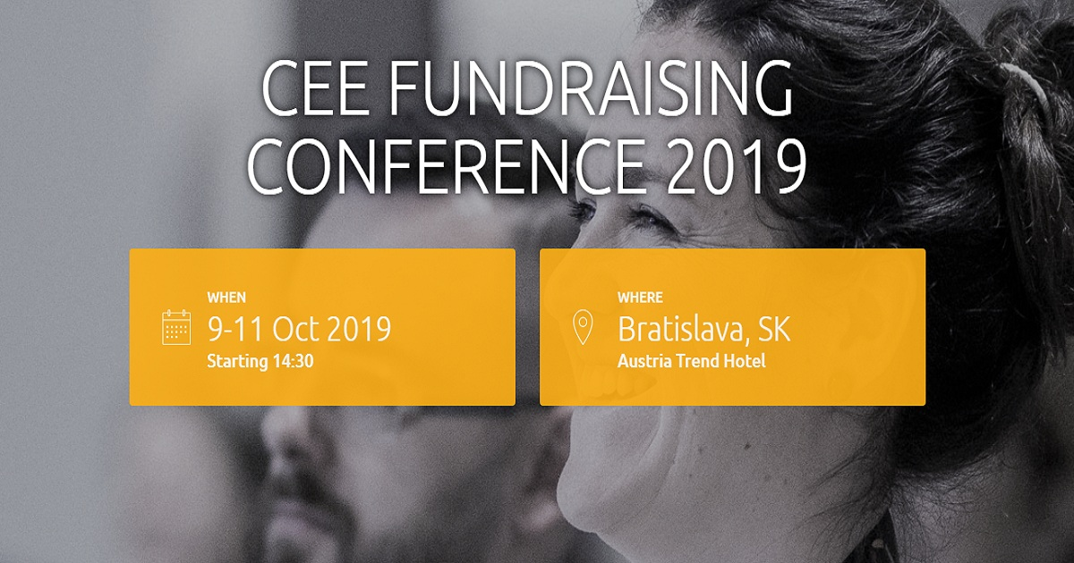 CEE FUNDRAISING CONFERENCE 2019
