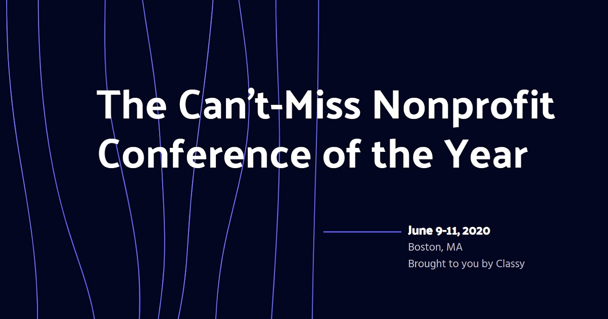 The Can't-Miss Nonprofit Conference of the Year