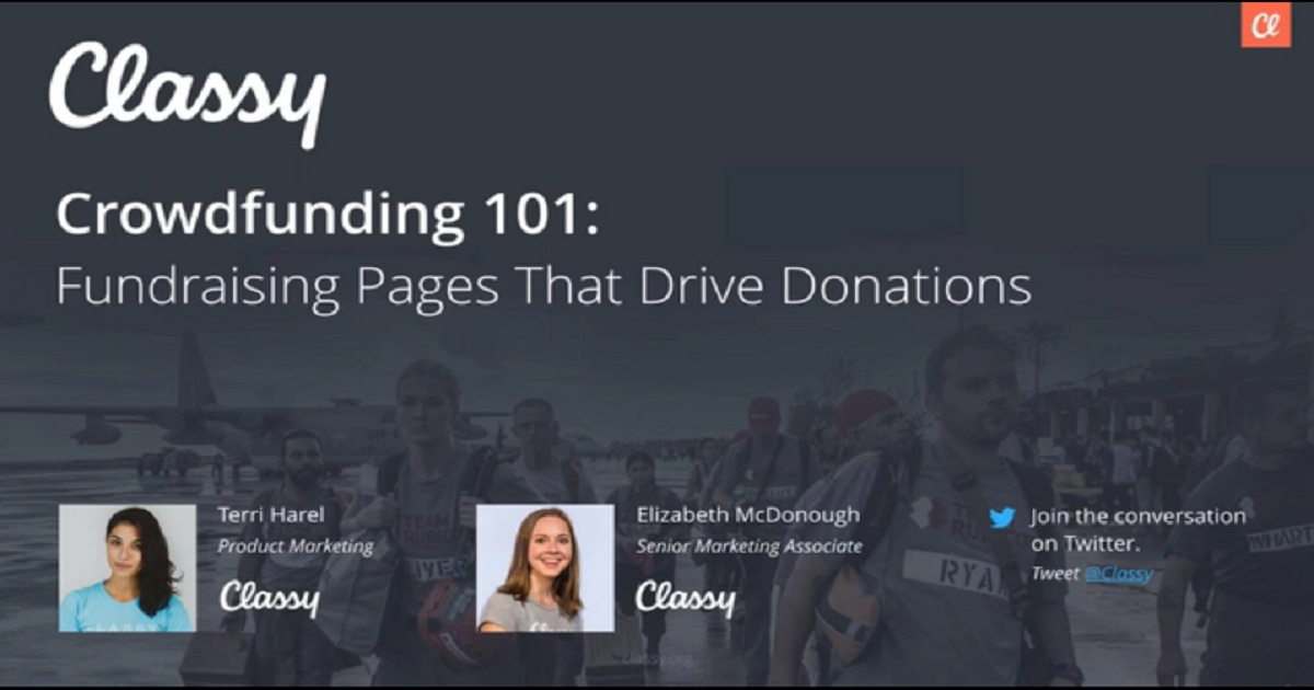 Crowdfunding 101: Fundraising Pages That Drive Donations
