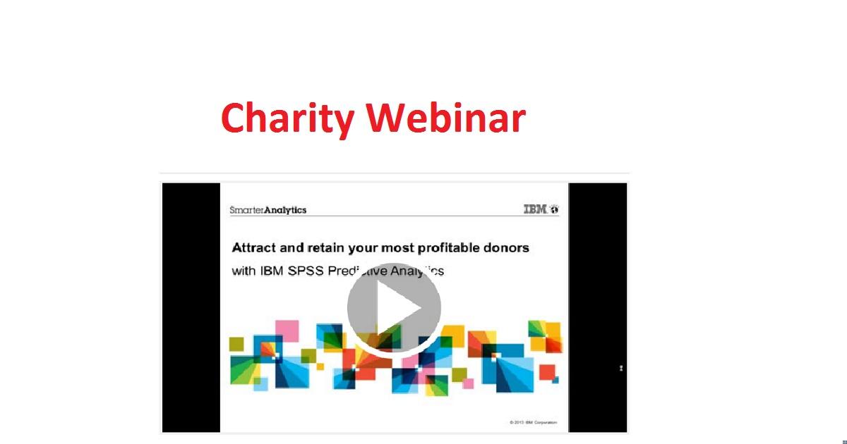 Charity Webinar