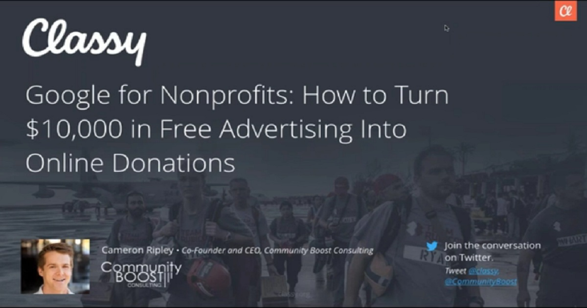 Google for Nonprofits: How to Turn $10,000 in Free Advertising Into Online Donations