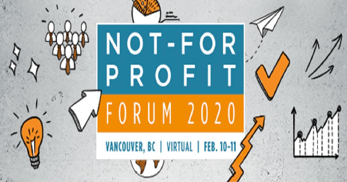 Not-for-profit forum 2020