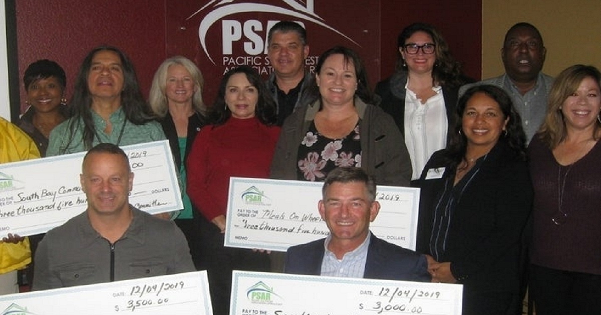 PSAR Realtors Trade Group Helping Local Nonprofits in Need