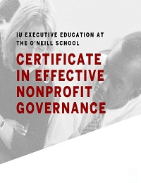 NONPROFIT GOVERNANCE COURSE HELPS GRADUATES IMPROVE BOARDS AND ORGANIZATIONS