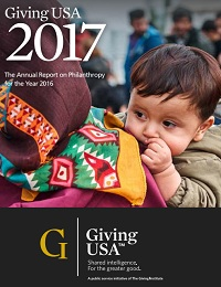 GIVING USA 2017 ANNUAL REPORT ON PHILANTHROPY