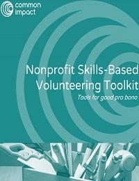 NONPROFIT SKILLS-BASED VOLUNTEERING TOOLKIT