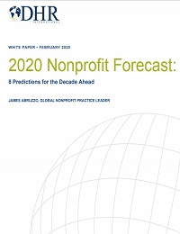2020 NONPROFIT FORECAST: EIGHT PREDICTIONS FOR THE DECADE AHEAD