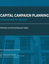 CAPITAL CAMPAIGN PLANNING