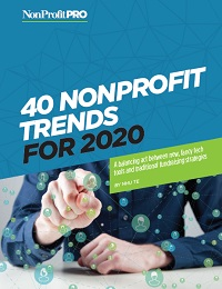 40 NONPROFIT TRENDS FOR 2020