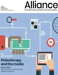 ALLIANCE FOR PHILANTHROPY AND SOCIAL INVESTMENT WORLDWIDE