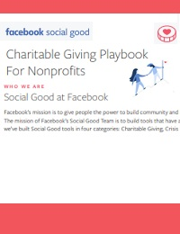 CHARITABLE GIVING PLAYBOOK FOR NONPROFITS